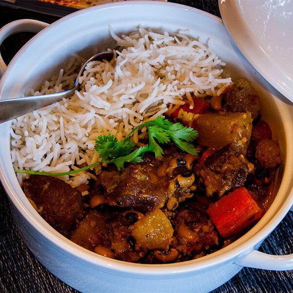 Pork Feet And Bean Stew