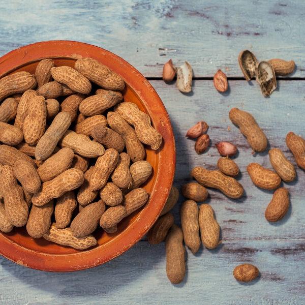 Badam, peanuts