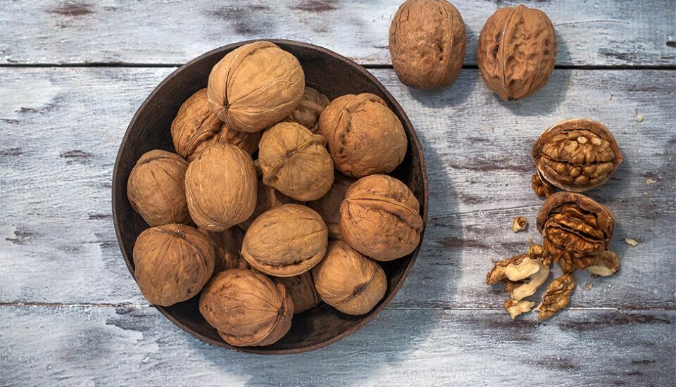 Daate okhar, English walnut