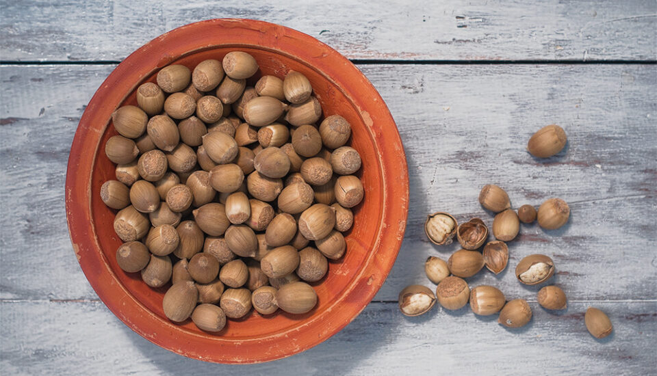 Katush, sweet chestnuts