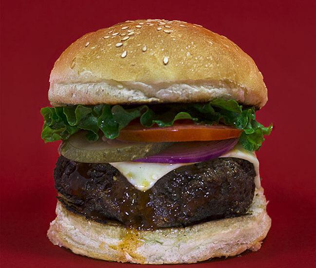 Nepali buff burger