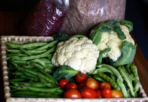 Weekly Bucket of Organic Foods at your Doorsteps